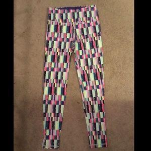 Victoria's Secret Sport checkered leggings